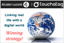 Linking real life to the digital world: Smart Stamp wins Alcatel-Lucent's Touchatag Contest!